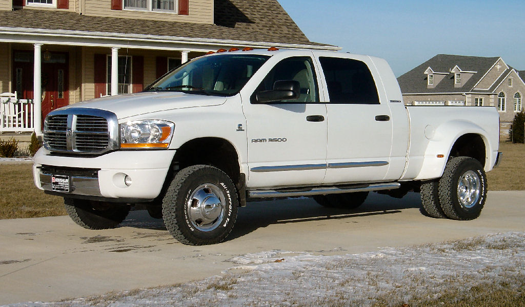 Bfgoodrich All Terrain >> White letters in or out on a Dually? - Dodge Cummins Diesel Forum