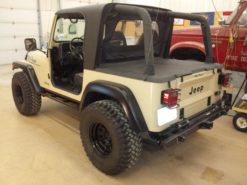 Jeep Wrangler Tj Build >> 1993 Jeep Wrangler (YJ)